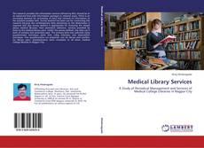 Buchcover von Medical Library Services