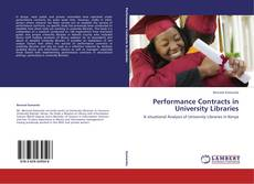 Обложка Performance Contracts in University Libraries