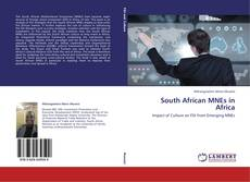 Bookcover of South African MNEs in Africa