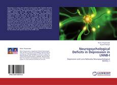 Bookcover of Neuropsychological  Deficits in Depression in LNNB-I