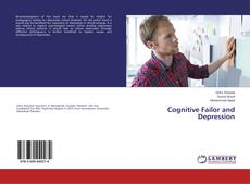 Bookcover of Cognitive Failor and Depression
