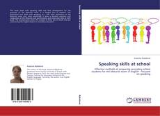 Capa do livro de Speaking skills at school