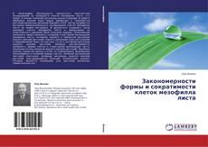 Bookcover of Закономерности формы и сократимости клеток мезофилла листа
