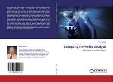 Bookcover of Company Networks Analysis