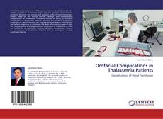 Bookcover of Orofacial Complications in Thalassemia Patients