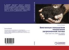 Capa do livro de Биогенные показатели техногенно загрязненной почвы