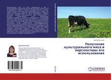 Buchcover von Получение культурального мяса и перспективы его использования