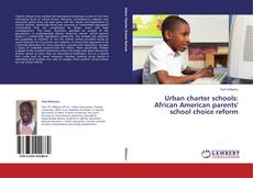 Bookcover of Urban charter schools: African American parents' school choice reform