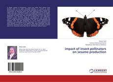 Buchcover von impact of insect pollinators on sesame production
