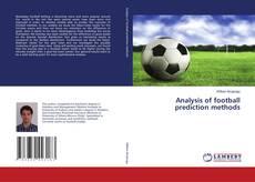 Обложка Analysis of football prediction methods