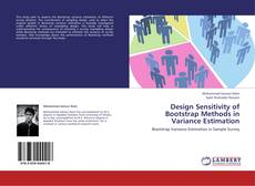 Capa do livro de Design Sensitivity of Bootstrap Methods in Variance Estimation