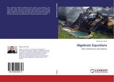 Bookcover of Algebraic Equations