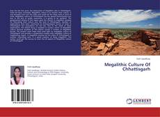 Bookcover of Megalithic Culture Of Chhattisgarh