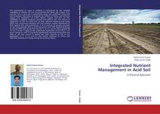 Обложка Integrated Nutrient Management in Acid Soil