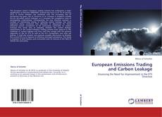 European Emissions Trading and Carbon Leakage kitap kapağı