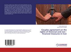 Capa do livro de Couples agreement on the rights of financial and non - financial measures in Iran