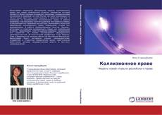 Коллизионное право kitap kapağı