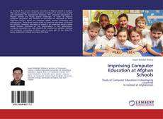 Capa do livro de Improving Computer Education at Afghan Schools