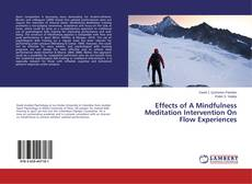 Copertina di Effects of A Mindfulness Meditation Intervention On Flow Experiences