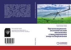 Portada del libro de Организационно-экономические механизмы стимулирования энергосбережения