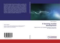 Buchcover von E-learning market development