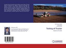 Bookcover of Testing of Tractor