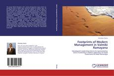 Bookcover of Footprints of Modern Management in Valmiki Ramayana