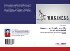 Buchcover von Business services in non-life insurance market