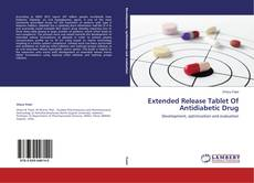 Bookcover of Extended Release Tablet Of Antidiabetic Drug