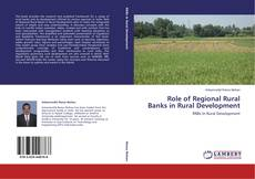 Portada del libro de Role of Regional Rural Banks in Rural Development