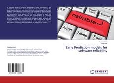Обложка Early Prediction models for software reliability