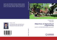 Bookcover of Objectives of Agricultural Engineering