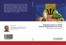 Buchcover von Buying Local in a Small  Import-Dependent Economy