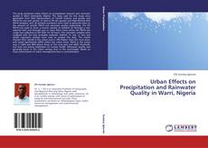 Capa do livro de Urban Effects on Precipitation and Rainwater Quality in Warri, Nigeria