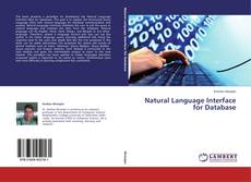 Natural Language Interface for Database kitap kapağı