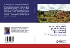 Bookcover of Africa's Faith Based Organizations in Transformational Development