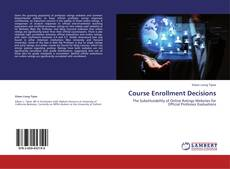 Couverture de Course Enrollment Decisions