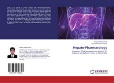 Buchcover von Hepato-Pharmacology