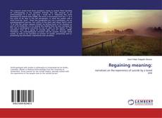 Buchcover von Regaining meaning: