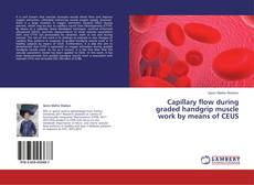 Bookcover of Capillary flow during graded handgrip muscle work by means of CEUS