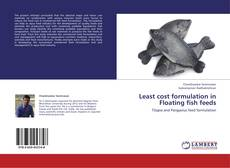 Buchcover von Least cost formulation in Floating fish feeds