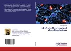 Bookcover of NP effects: Theoretical and clinical implications