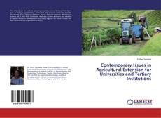 Couverture de Contemporary Issues in Agricultural Extension for Universities and Tertiary Institutions