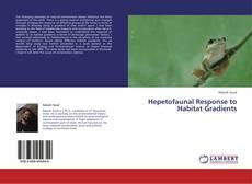 Portada del libro de Hepetofaunal Response to Habitat Gradients