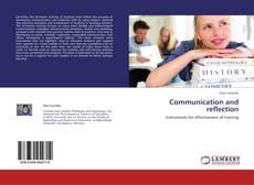Обложка Communication and reflection