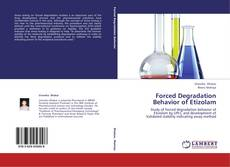 Bookcover of Forced Degradation Behavior of Etizolam