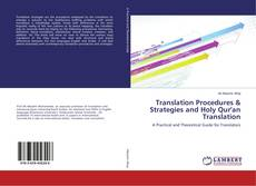 Buchcover von Translation Procedures & Strategies and Holy Qur'an Translation