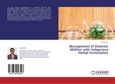 Capa do livro de Management of Diabetes Mellitus with Indigenous Herbal Formulation