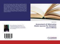 Couverture de Assessment of Alternative Water sources for Domestic use in Minna