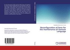 Bookcover of Reconfiguration of fono for the maintenance of Samoan Language
